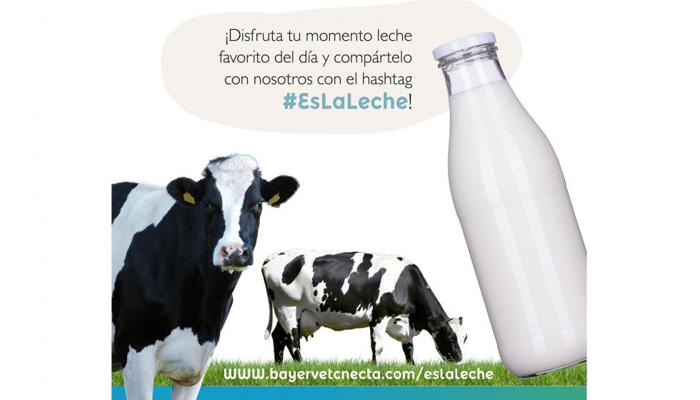 Bayer Pone En Marcha La Campaña #EsLaLeche Para Promover El Consumo De Lácteos Y Apoyar La Labor De Ganaderos Y Veterinarios