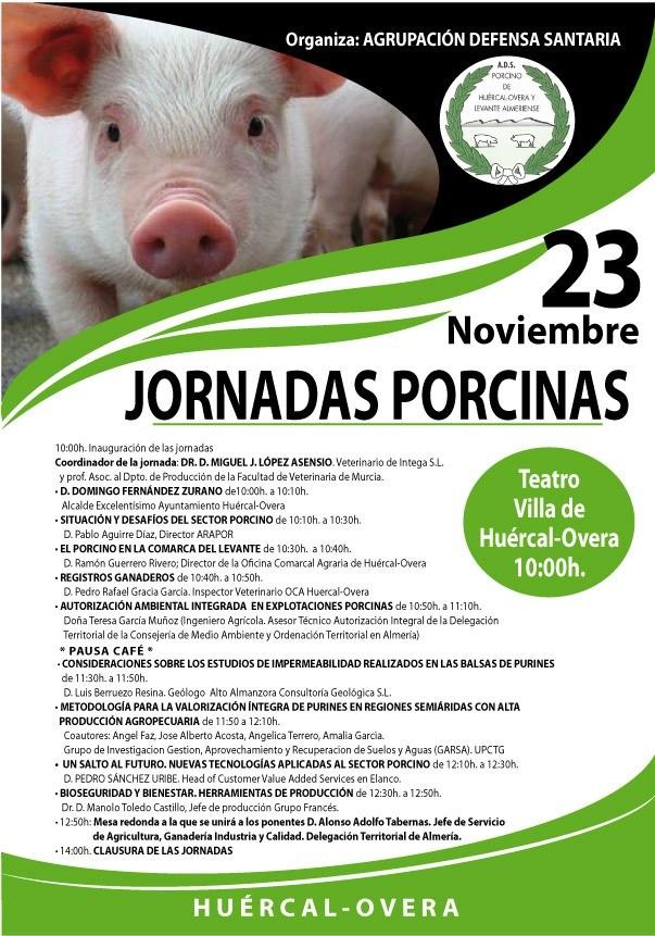 Celebración De Jornadas Porcinas En Huercal- Overa 23 Noviembre